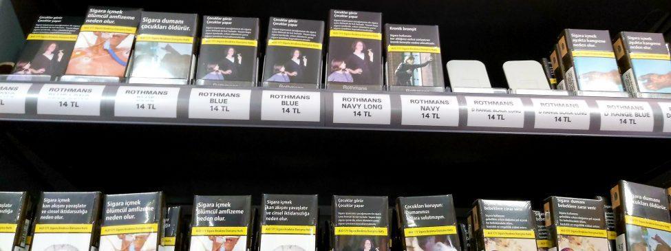 Sigara Fiyatları 2020 Zamlı